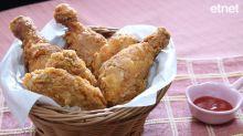 【煲劇必備】在家做出快餐店風味香辣脆雞!如何做出鱗片狀脆皮炸雞?