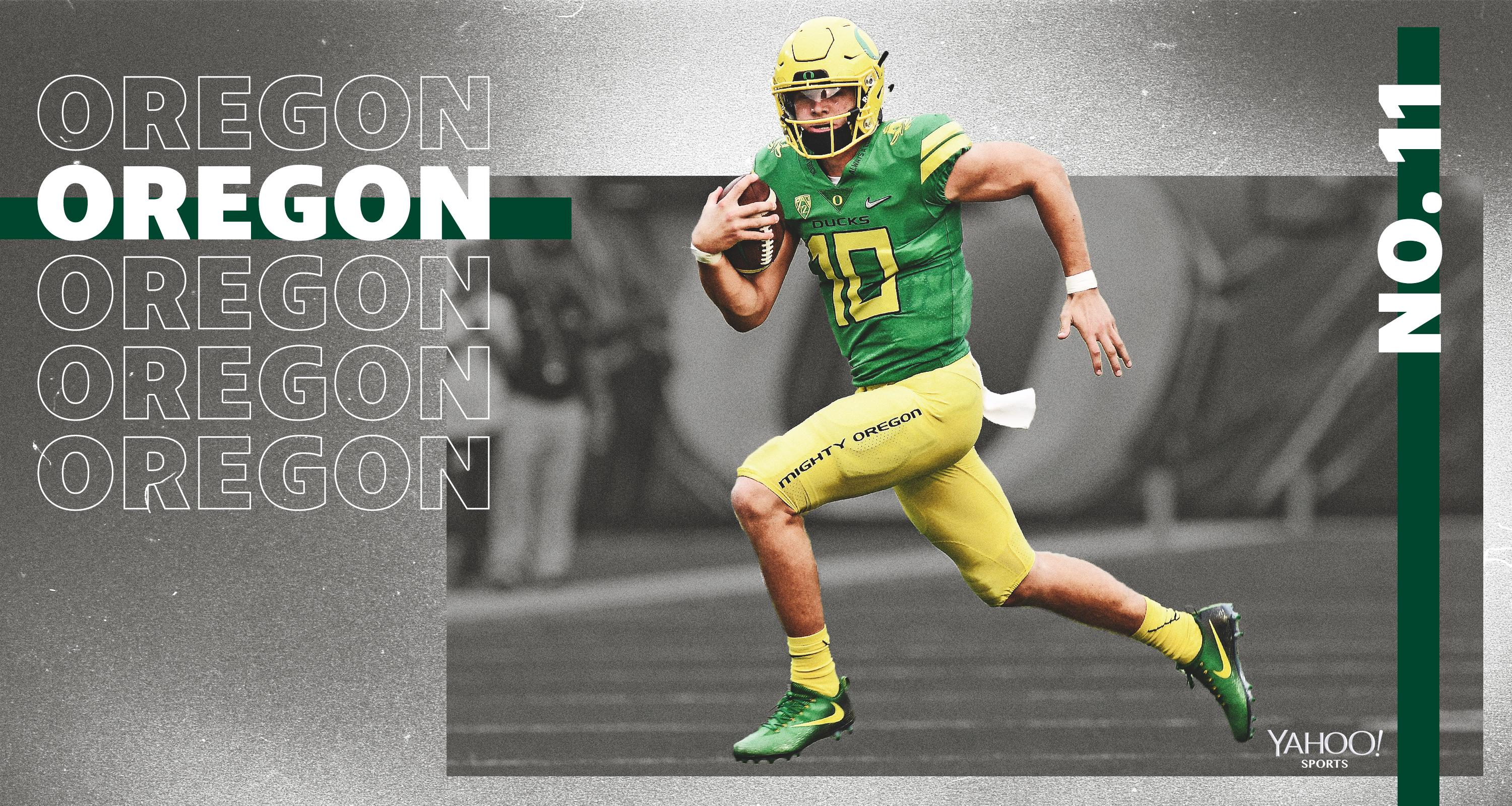 finest selection f1014 7b2d1 Yahoo Sports' preseason 2019 Top 25: No. 11 Oregon