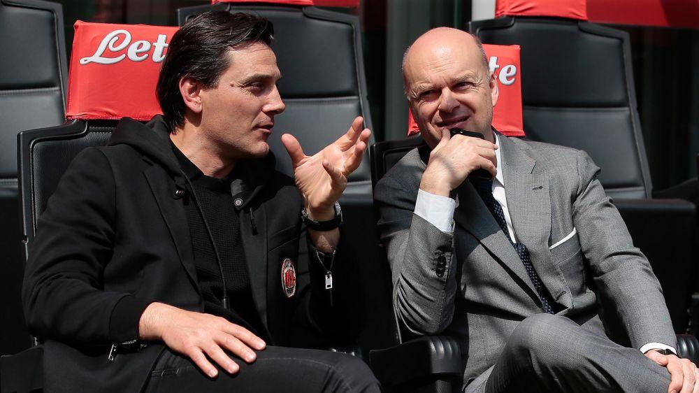 """Fassone conferma Montella al Milan: """"Nessun dubbio sulla guida tecnica"""""""