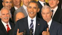2013 Stanley Cup Winning Chicago Blackhawks Honored by Obama