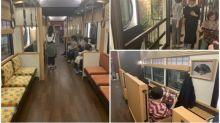 京都超正觀光電車 車廂似小庭院只限假日行駛