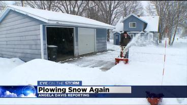 Over 9 Inches Of Snow Dumped In Avon, Minn.