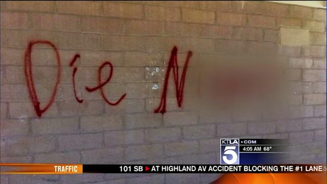 Mom Says Son is Being Scapegoated in Hate Graffiti Case