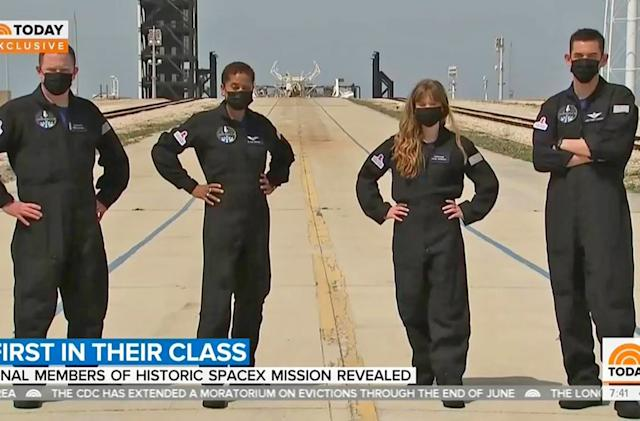 Meet SpaceX's first all-civilian flight crew