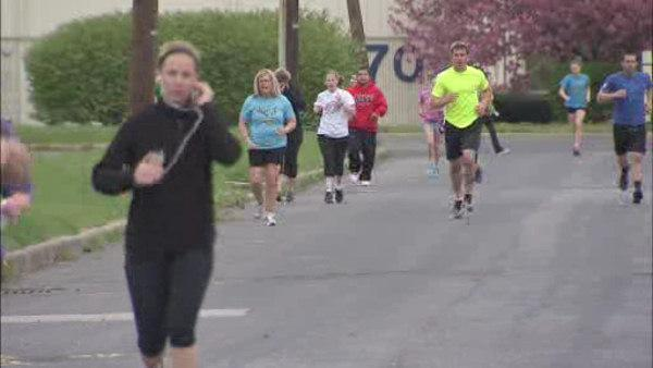 Runners in Cherry Hill helping Boston recover