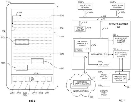 Apple's patent application for pen-based computer remembers fingers can't write