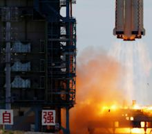 First astronauts blast off for China's new space station