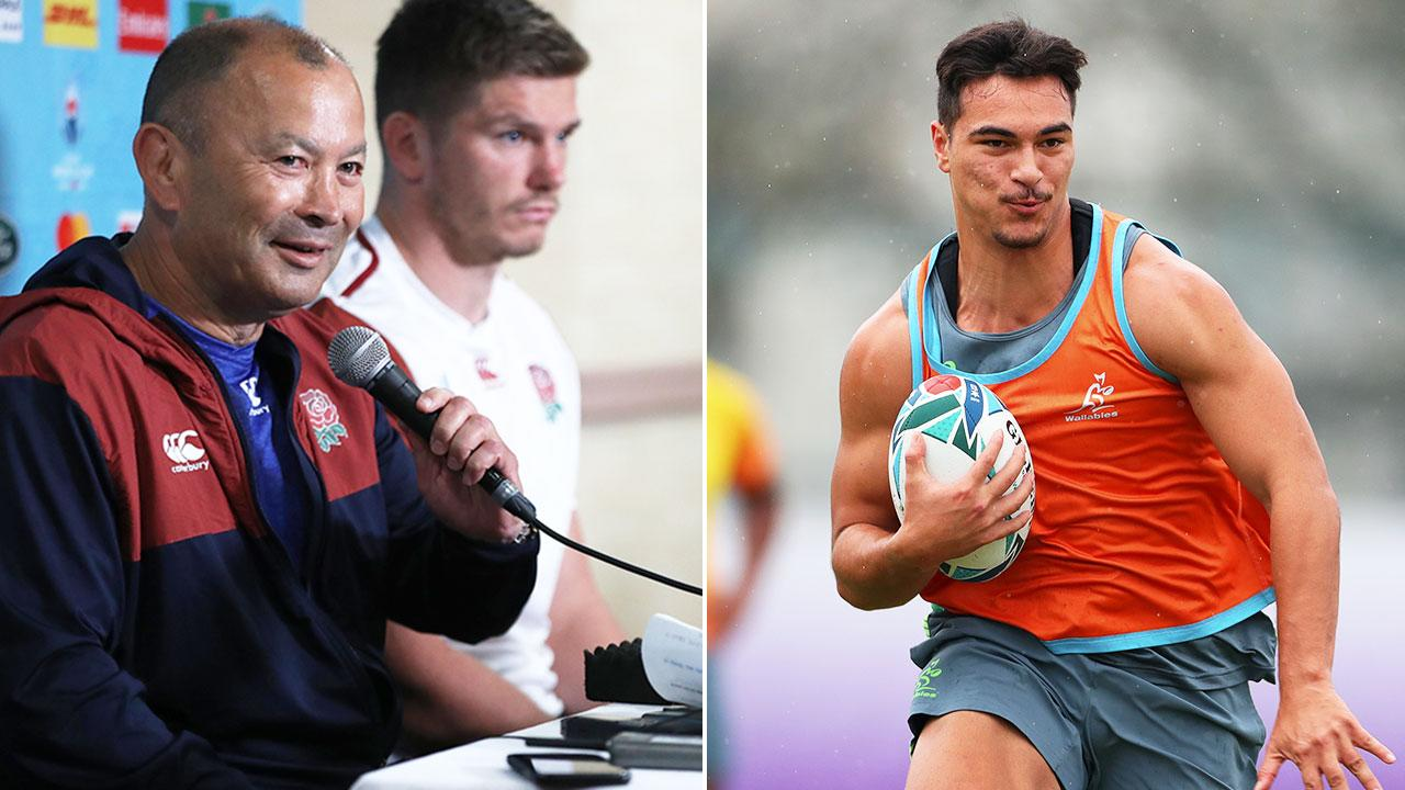 'Big occasion': England coach turns up heat on Wallabies rookie