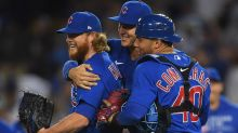 Cubs bullpen 'completely oblivious' to no-hitter vs. Dodgers