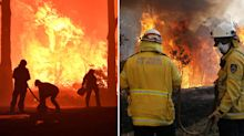 Fires around Sydney escalate to emergency level creating fears of them merging into mega blaze
