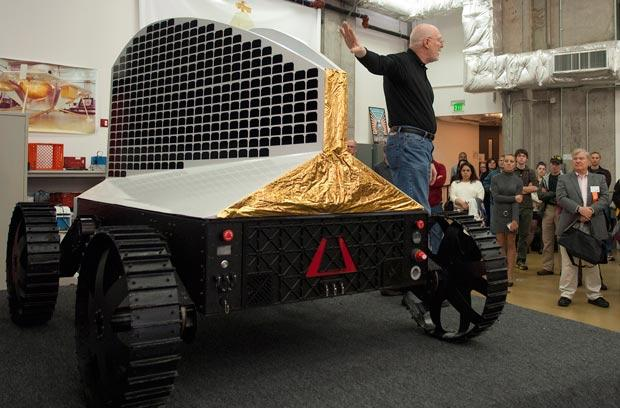 Polaris rover will travel to the Moon in search of polar resources, try to survive the long lunar night