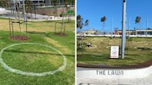 Story behind mysterious circles in Melbourne parks