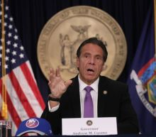 Cuomo Warns 'These Are Dangerous Times,' Opens New COVID Emergency Site, Picks Up Emmy