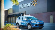 Self-driving Ford vehicles could deliver your Walmart groceries in the future