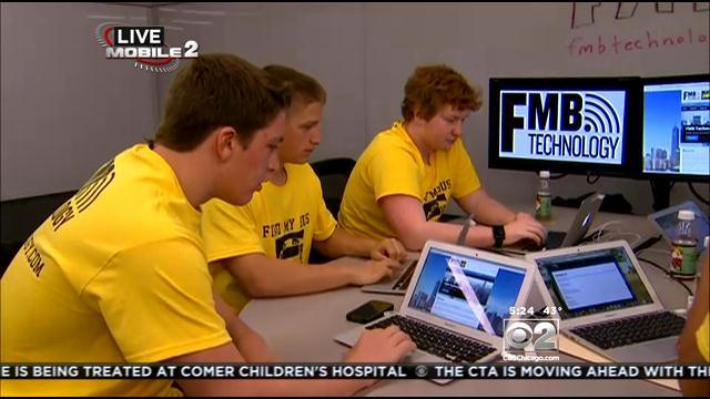 Barrington H.S. Students Learning About Business Startups