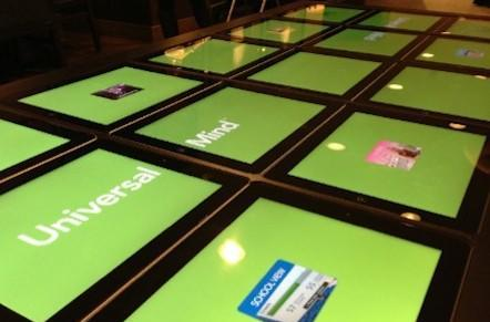 Multi-iPad table moves from concept to reality