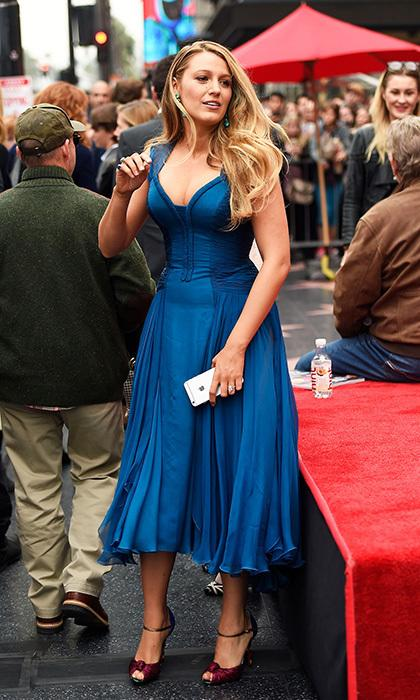 Blake Lively shows off her new figure after stunning 61lb ...