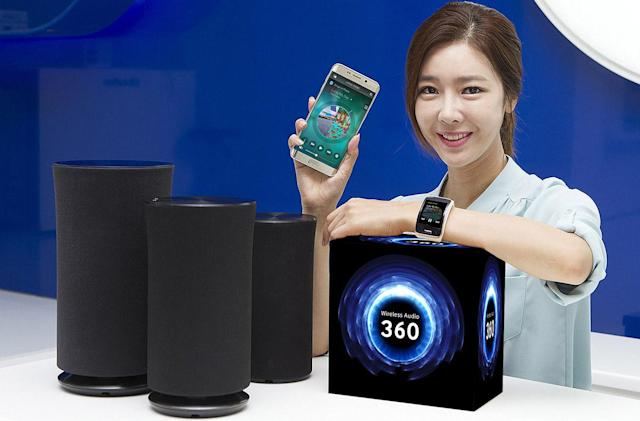 Samsung has new 360-degree wireless speakers and a better app