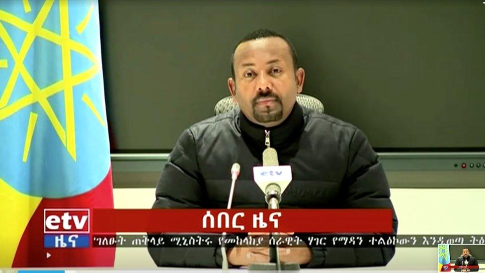Tigray crisis: Ethiopia's Abiy Ahmed vows to continue military offensive