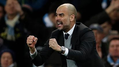 It was Champions League football – but not as Pep Guardiola has come to know it   Paul Wilson