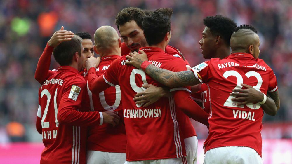 El Bayern Múnich 'trollea' al Real Madrid con la nieve