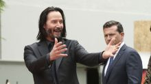 Keanu Reeves surprises fans with touching gesture during 'Bill & Ted Face 3' shoot