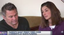 Mom Sues Catholic Archdiocese After Priest Criticized Son's Suicide At Funeral