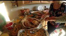 Woman falls for 'baby turkey' prank