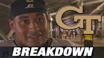 Georgia Tech QB Justin Thomas Awesome in 1st Career Start