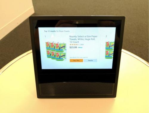 Amazon Echo Show can't show your shopping cart.