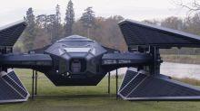 Life-size, fan-built replica of Kylo Ren's 'Last Jedi' TIE fighter will blow your mind