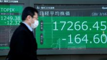 Bolsas europeas y asiáticas se hunden por el coronavirus pese a los anuncios de los bancos centrales