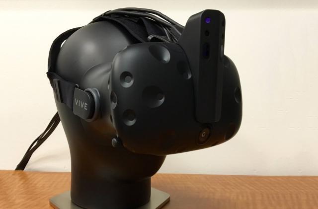 Intel scientist teases depth-sensing 'horn' for HTC Vive