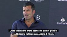 "Figo: ""Messi via dal Barcellona? Quasi impossibile..."""