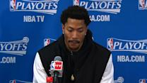 Rose on Game 1 win