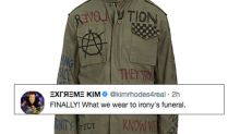 The Internet Definitely Isn't Buying This $375 'Antifa' Jacket From Barneys