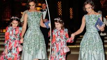 Katie Holmes and daughter Suri Cruise step out in coordinated outfits