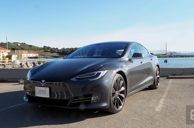 Tesla's superfast P100D offers tech-heavy luxury for the rich