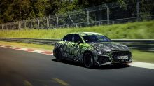 Watch: The 2022 Audi RS3 Just Set a Nürburgring Lap Record for Compact Sedans