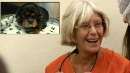 Woman Laughs in Court After Trying to Drown Her Own Dog; Witnesses Save it
