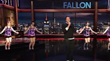 Jimmy Fallon Returns To The Studio With Delightfully Awkward Musical Number