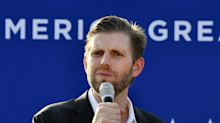 Eric Trump canceled a visit to a gun shop in Michigan where one of the men accused of plotting to kidnap Gov. Gretchen Whitmer used to work