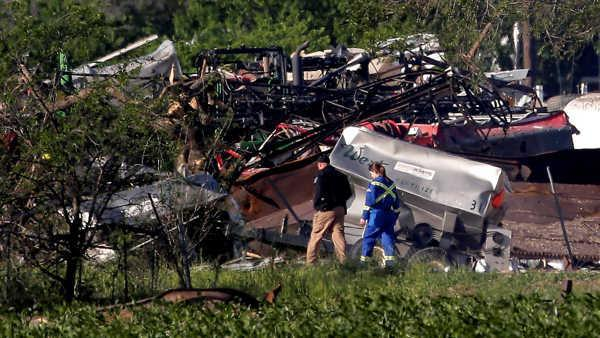 President Obama going to service for Texas plant explosion victims