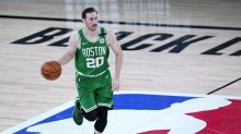 Though rehab on his ankle is 'going OK,' Gordon Hayward still a ways off from rejoining Celtics