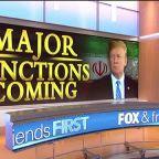 President Trump to unleash 'major' new sanctions against Iran