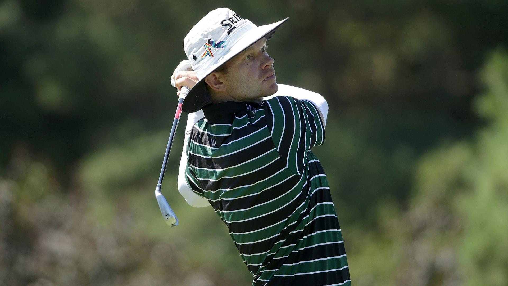 Jared Wolfe one win away from PGA Tour promotion after Wichita Open victory