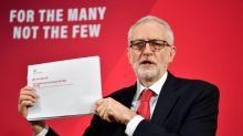 Corbyn denuncia que Johnson quiere controles aduaneros en el Mar de Irlanda