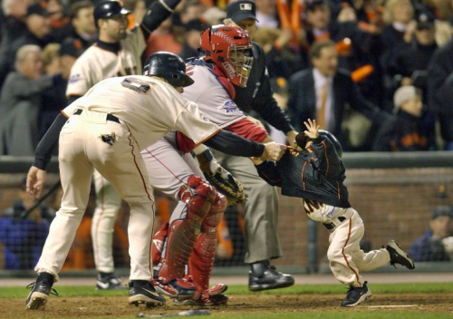 Darren Baker, who was pulled to safety in 2002, was drafted by the Nationals in 2017. (AP Photo)