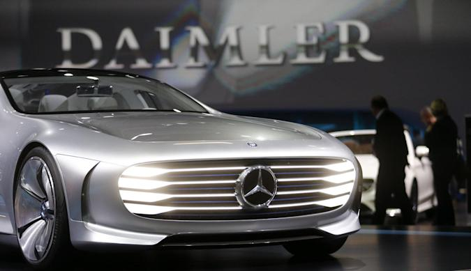 Mercedes zeigt neue E-Limousine im September