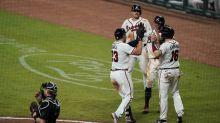 Braves set franchise record for runs, hammer Marlins 29-9